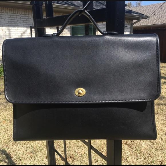 coach bags vintage regency brief portfolio style 5255 poshmark rh poshmark com